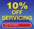 10% Off Servicing