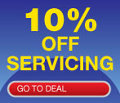 10% Off Servicing