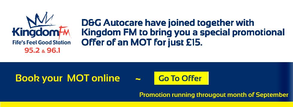 kingdomfm-£15mot-offer