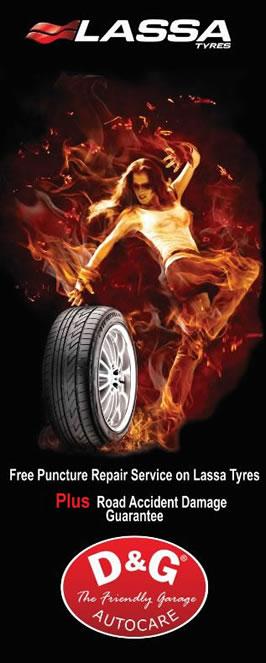 Lassa Tyres at D&GAutoacare