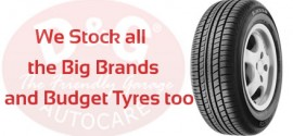 D&G Autocare Stock All Big brands and budget tyres too