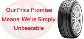 D&G Autocare Tyre Price Promise