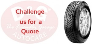 Get cheapest tyre Quote from D&G Autocare tyres at Dunfermline, Kirkcaldy, Inverkeithing, Glenrothes, Stirling, Perth, Edinburgh, Livingston, Musselburgh and Whitburn.