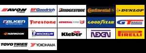 Brands of Tyres