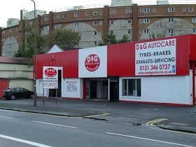 D&G Autocare Edinburgh - West End