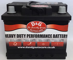 D&G Autocare Heavy Duty Performance Battery