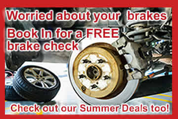 Brake Check and Summer Deals