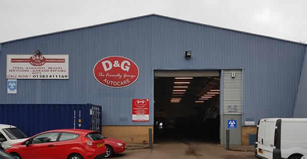 D&G Autocare Inverkeithing Garage