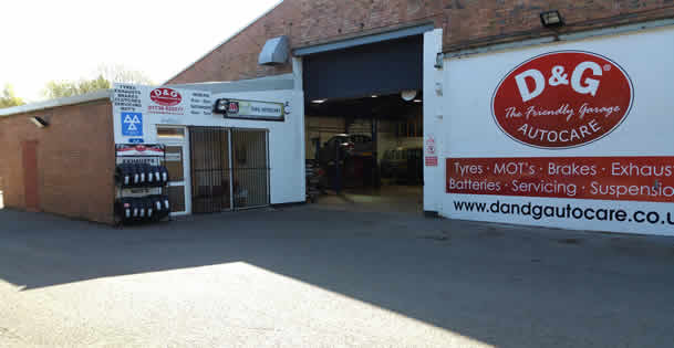 D&G Autocare Perth Garage