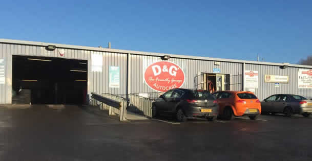 D&G Autocare Pitreavie Garage