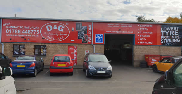 D&G Autocare Stirling Garage