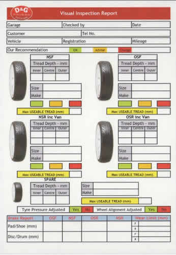 How To Check Tread Depth >> Best Tyre Deals: Save Money On Your Next Tyre @ D&G Autocare