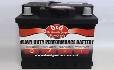 D&G Autocare Car Battery