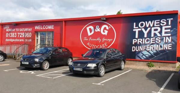 Pitreavie Garage Dunfermline