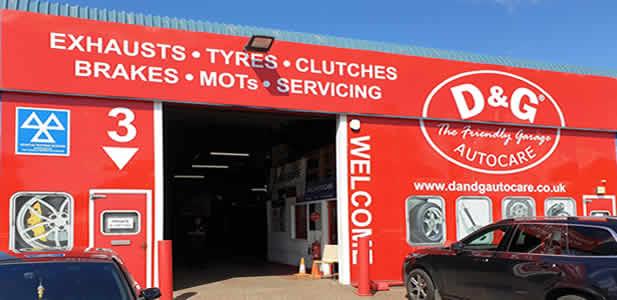 D&G Autocare Glenrothes Garage